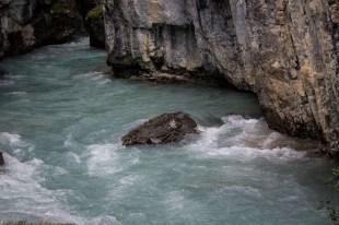 Marble Canyon in Kootenay National Park, BC, Canada. Dawn Page / CoastsideSlacking