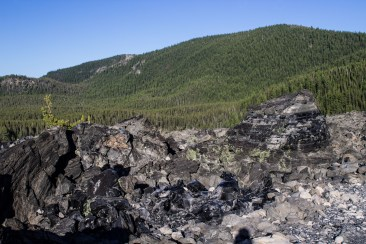 The view atop Newberry National Volcanic Monument. Dawn Page / CoastsideSlacking
