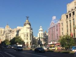 Views along the Calle de Alcalá, Madrid, Spain. Dawn Page / CoastsideSlacking