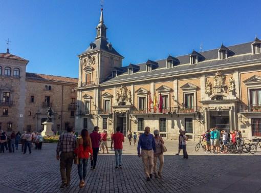 Plaza Mayor, Madrid, Spain. Dawn Page / CoastsideSlacking