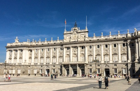 Royal Palace of Madrid, Spain. Dawn Page / CoastsideSlacking