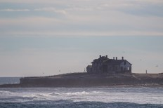 Abandoned light station on Año Nuevo island in Pescadero, California. Dawn Page / CoastsideSlacking.