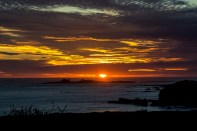 Sunset at Año Nuevo State Park in Pescadero, California. Dawn Page / CoastsideSlacking.