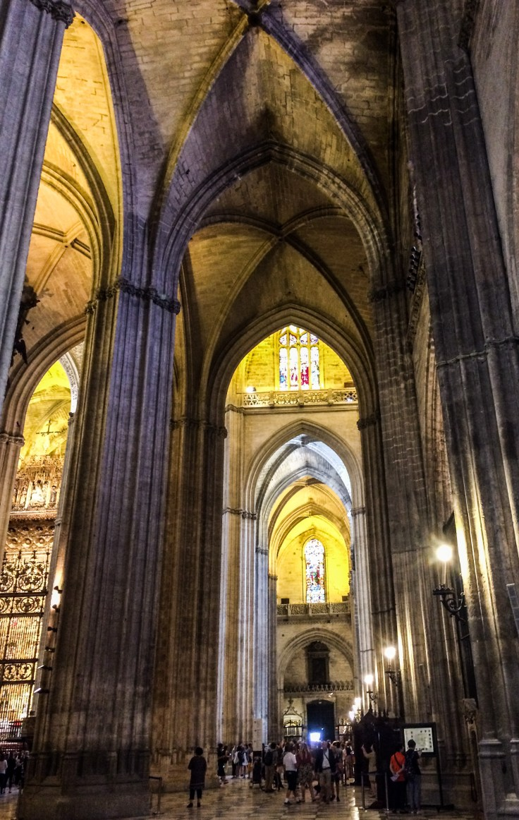 The magnificent gothic architecture of Seville Cathedral. Andalusia, Spain. Dawn Page / CoastsideSlacking