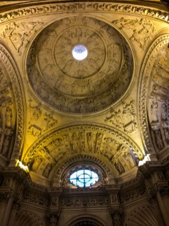 Seville Cathedral dome. Andalusia, Spain. Dawn Page / CoastsideSlacking