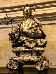 Reliquary in Seville Cathedral. Andalisia, Spain. Dawn Page / CoastsideSlacking