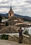 Looking out over the Zahara de la Sierra rooftops, Andalusia, Spain. Dawn Page / CoastsideSlacking