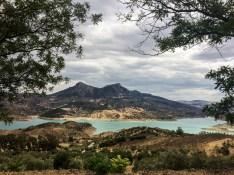 Reservoir at Zahara de la Sierra, Andalusia, Spain. Dawn Page / CoastsideSlacking