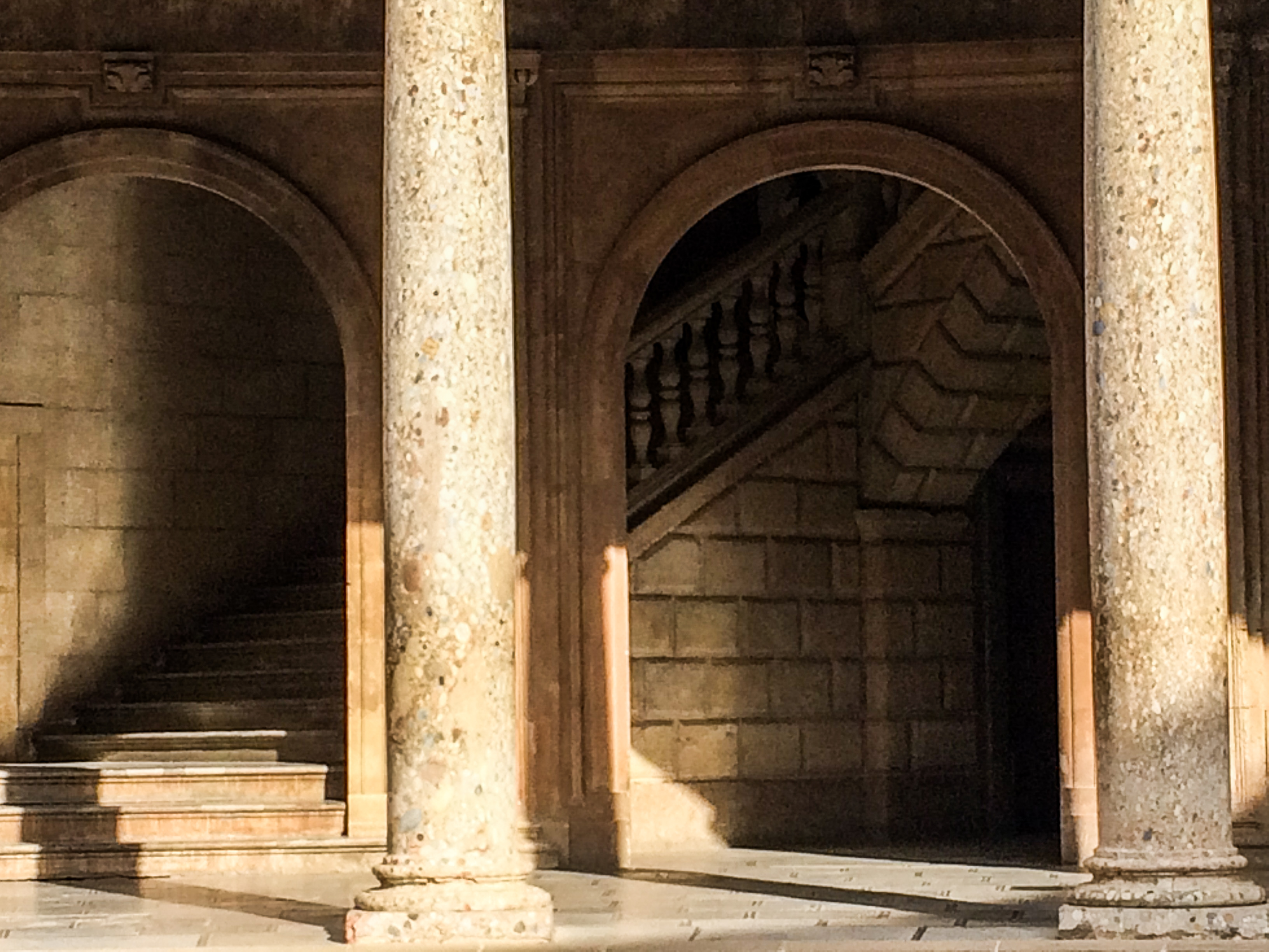 The Alhambra palace in Granada, Spain. Dawn Page / CoastsideSlacking