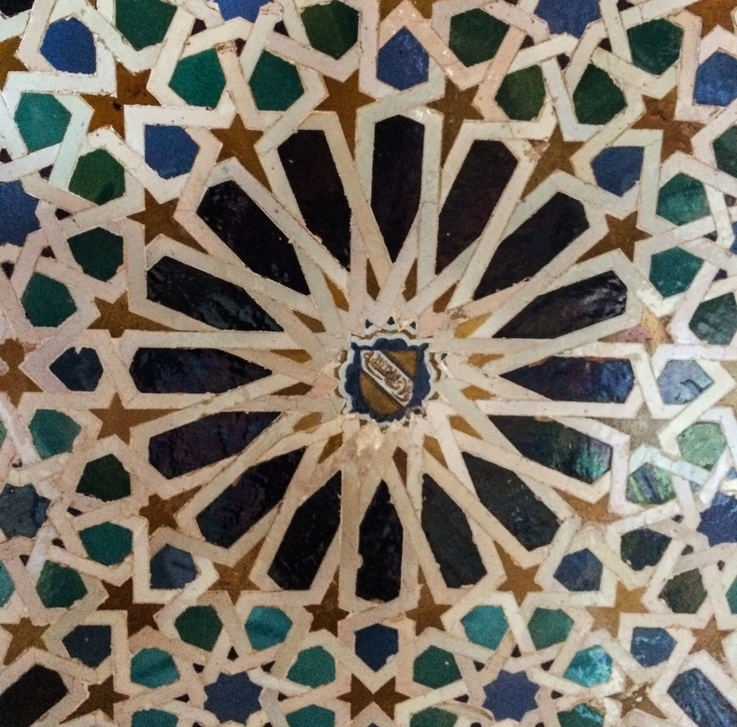 Stunning plaster work in the Alhambra palace in Granada, Spain. Dawn Page / CoastsideSlacking
