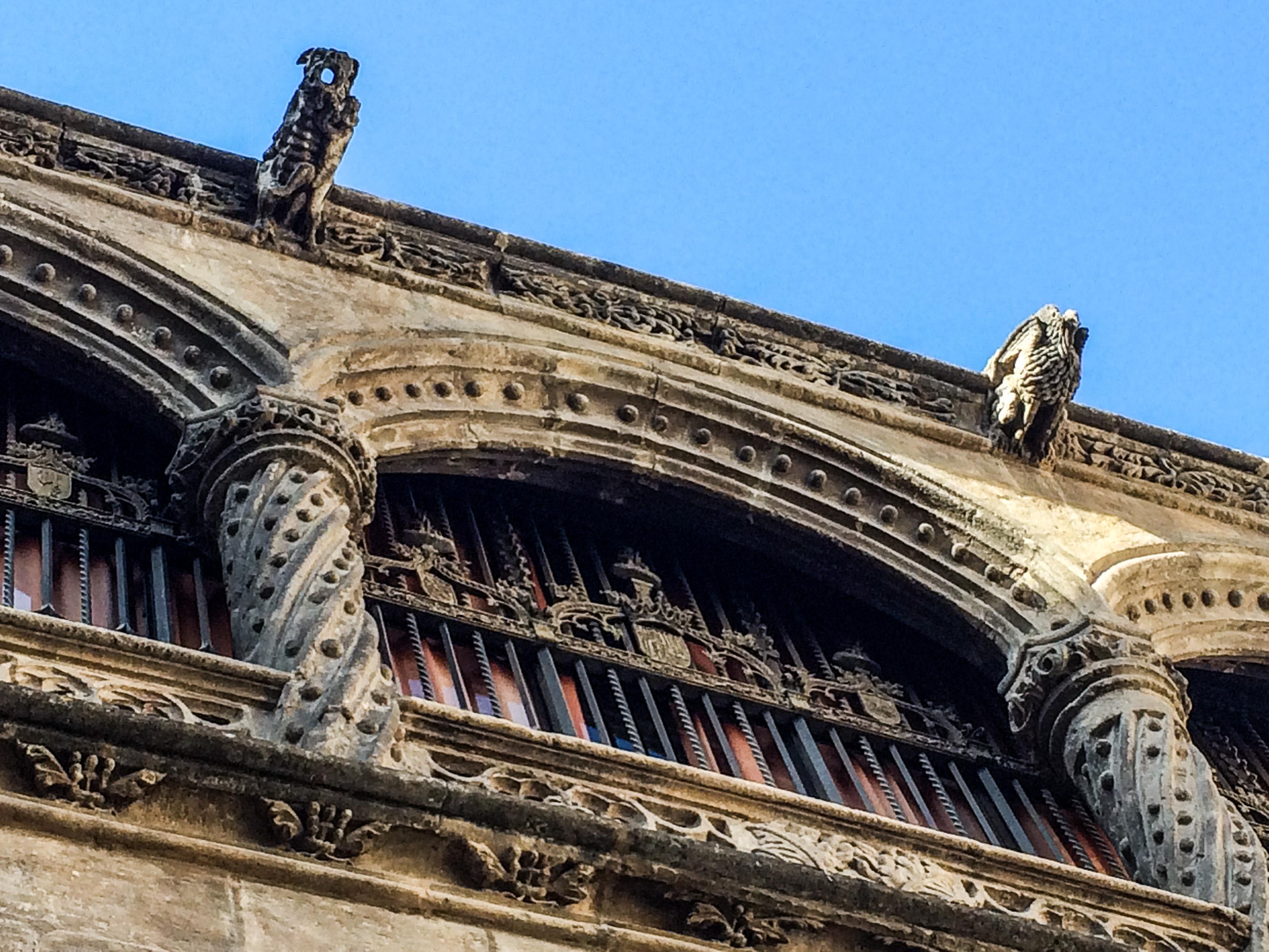 Gothic architecture in Granada, Spain. Dawn Page / CoastsideSlacking