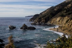 The view from Julia Pfeiffer Burns State Park. Dawn Page / CoastsideSlacking