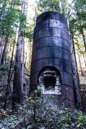 Abandoned kilns at Limekiln State Park, Big Sur, California. Dawn Page / CoastsideSlacking