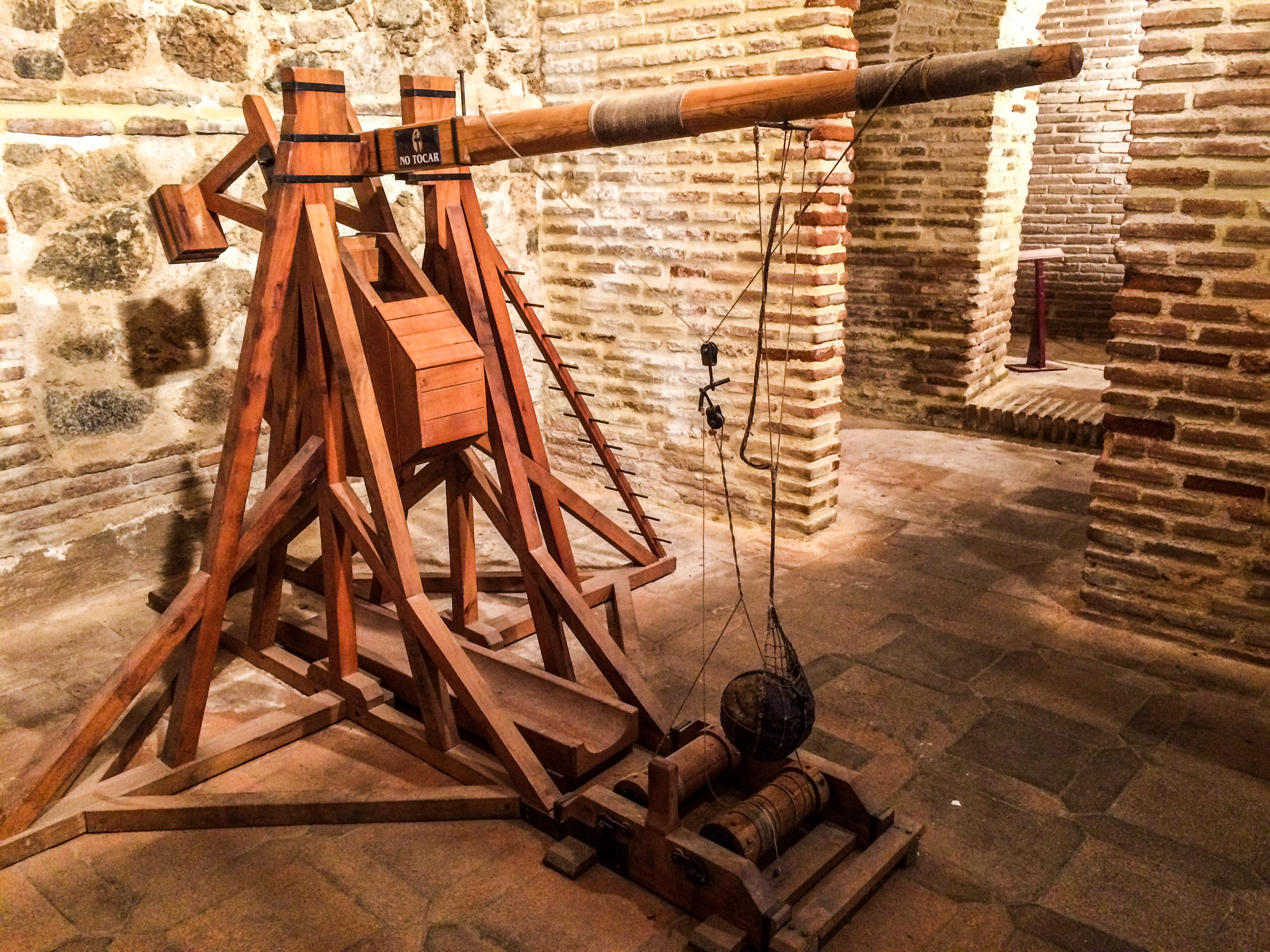 Catapult and siege machine museum in Toledo, Spain. Dawn Page / CoastsideSlacking
