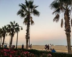 La Malvarrosa Beach in Valencia, Spain. Dawn Page / CoastsideSlacking