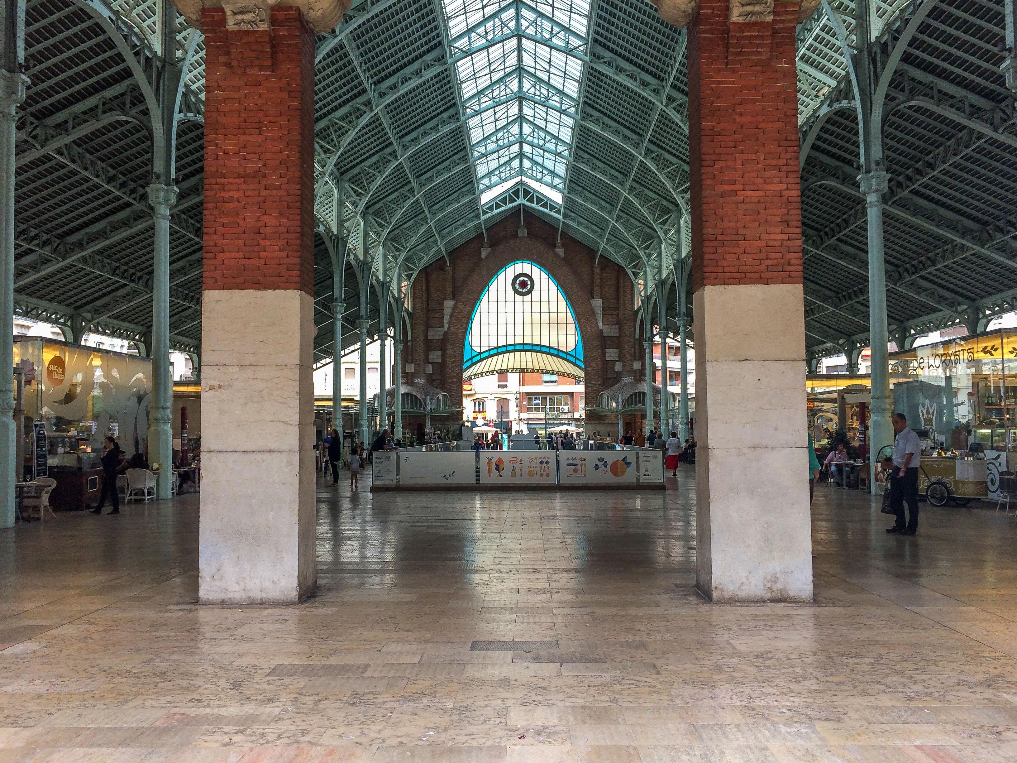 Mercado de Colon in Valencia, Spain. Dawn Page / CoastsideSlacking