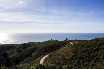 Pedro Mountain Road. Montara Mountain. Dawn Page / CoastsideSlacking