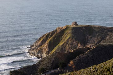 Devil's Slide Bunker. Montara Mountain. Dawn Page / CoastsideSlacking