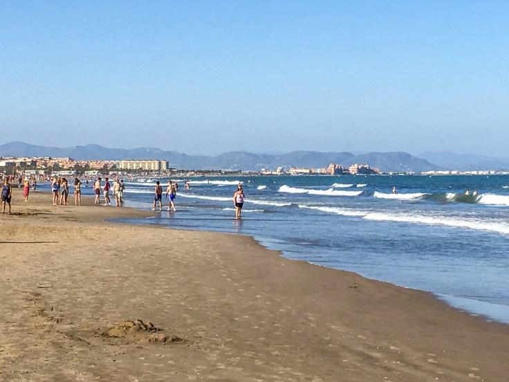 La Malvarrosa Beach in Valencia, Spain. Dan Page / CoastsideSlacking