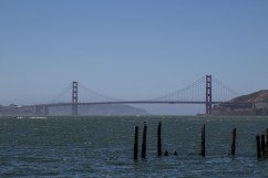 Golden Gate Bridge from Camp Reynolds, Angel Island State Park. Dawn Page/CoastsideSlacking