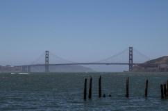 Golden Gate Bridge from Camp Reynolds, Angel Island State Park. Dawn Page/CoastsideSlacking