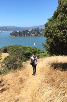 Stuart Point, Angel Island State Park. Dan Page/CoastsideSlacking