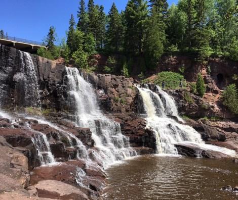 Gooseberry Falls State Park. Dan Page/CoastsideSlacking