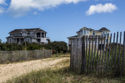 Carova, Outer Banks, NC. Dawn Page/CoastsideSlacking