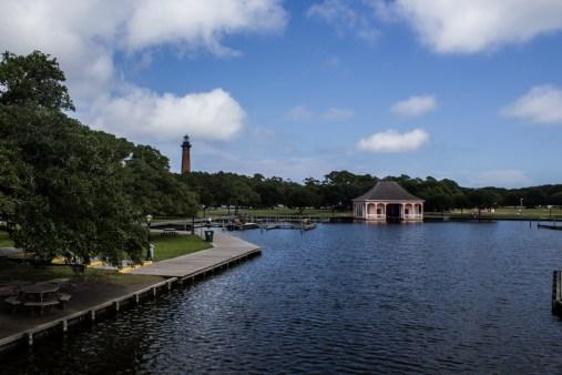 Currituck Heritage Park, Corolla, NC. Dawn Page/CoastsideSlacking