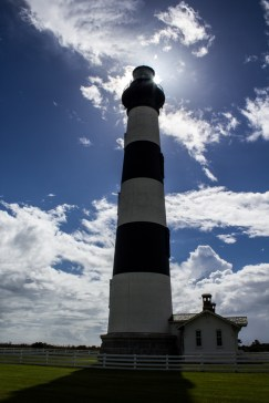 Bodie Island Lighthouse. Dawn Page/CoastsideSlacking
