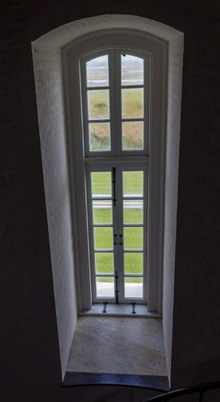 View from the stairwell at Bodie Island Lighthouse. Dawn Page/CoastsideSlacking