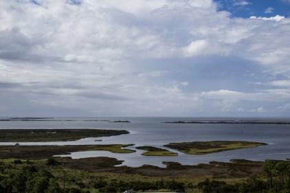 Pamlico Sound from Bodie Island Lighthouse. Dawn Page/CoastsideSlacking