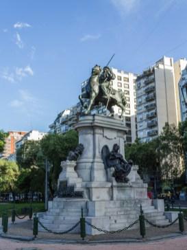 Plaza Italia, Buenos Aries. Dawn Page/Coastside Slacking
