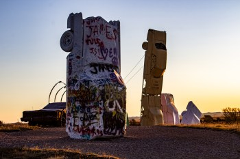 Carhenge, Alliance, NE. Dawn Page/CoastsideSlacking