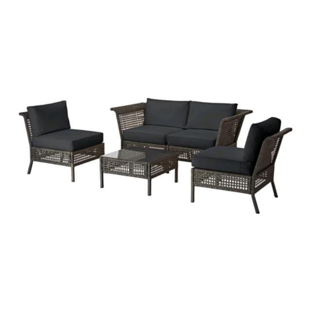 patio lounge furniture conversation set