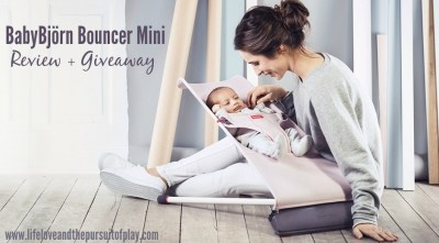BabyBjörn Bouncer Mini Review + Giveaway