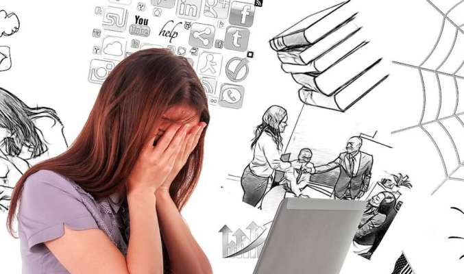 Image: woman feeling overwhelmed, various beliefs about money
