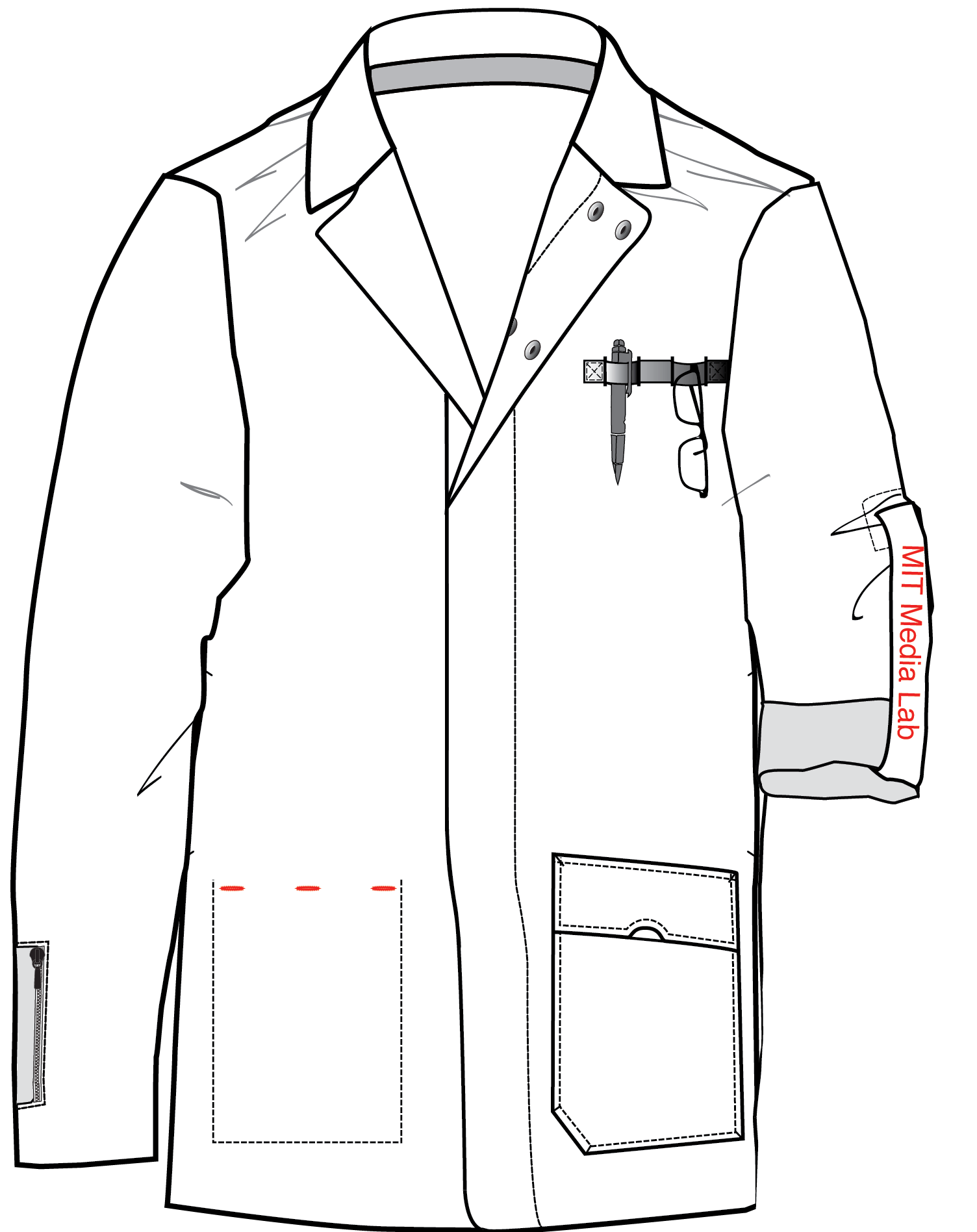 MIT Media Lab Coat