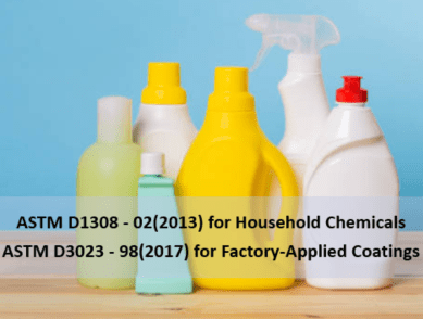 Standards for the Effect of Chemical Reagents and Stains