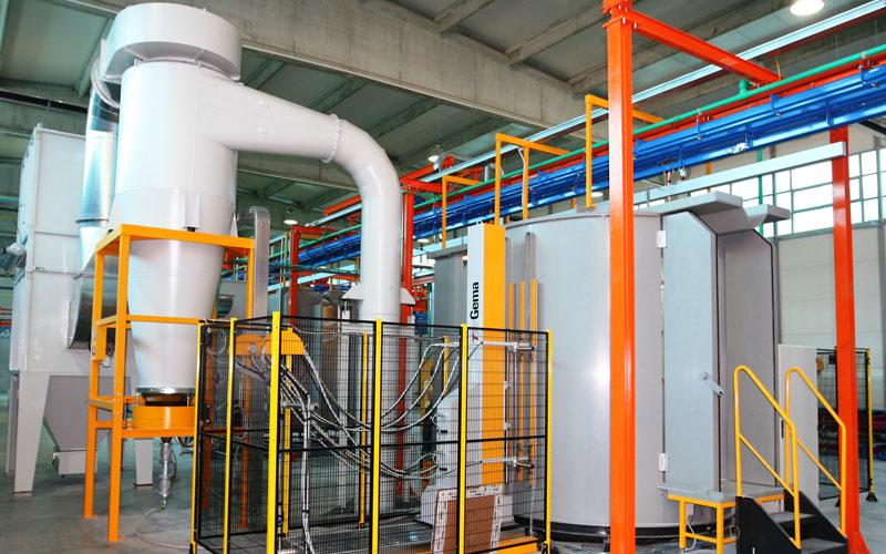spray coating line manufacturer