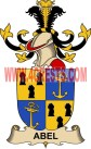 abel coat of arms family crest