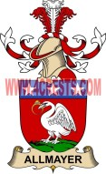 allmayer coat of arms family crest