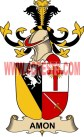 amon coat of arms family crest