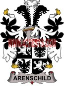 arenschild coat of arms family crest