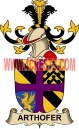 arthofer coat of arms family crest