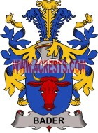 bader coat of arms family crest