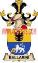 ballarini coat of arms family crest