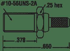 1429-24A-7 MCX Straight Female Bulkhead Flexible Cable