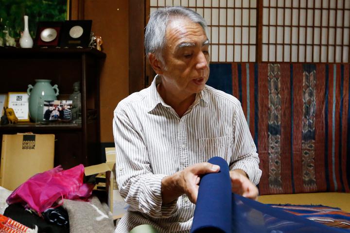 澤井織物工場4代目、伝統工芸士の澤井伸さんにお話を伺いました