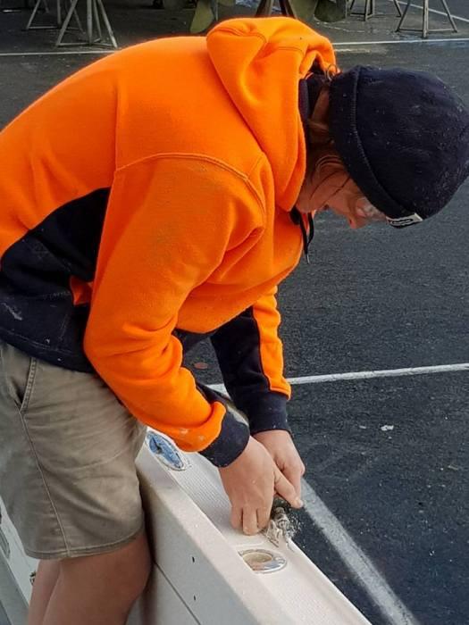 repairing gelcoat